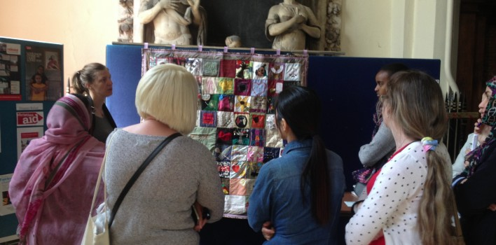 The Changing Roles of Women Quilt, Touring